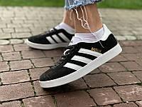 Кроссовки натуральная замша Adidas Gazelle Адидас Газель, фото 1