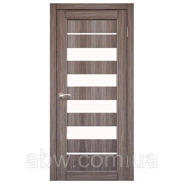 Межкомнатная дверь Korfad PND-03 дуб грей