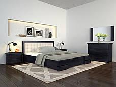 Кровать с подъем. механизмом Arbordrev Регина Люкс квадрат (Бук), фото 2