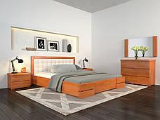 Кровать с подъем. механизмом Arbordrev Регина Люкс квадрат (Бук), фото 3