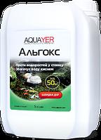 AQUAYER Альгокс средство против водорослей в пруду 5л