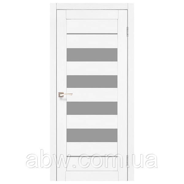 Межкомнатная дверь Korfad PND-03 белый ясень