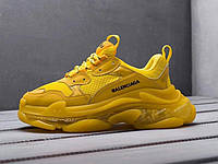 Кроссовки Balenciaga Triple S Full Yellow