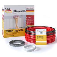 """Нагревательный кабель, """"Warmstad"""" WSS-680 (3.8-4.5 м2), тепла підлога, теплый пол"""