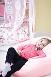 Бескаркасное кресло груша,удобное мягкое розовое кресло груша,бескаркасное кресло детское, фото 5