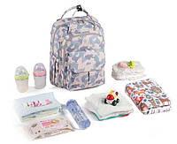 Оригинал. Рюкзак органайзер для мам Heine Star. Многофункциональный рюкзак с термочехлами. Акция!