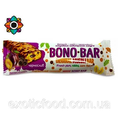 Батончик Bono bar со вкусом чернослива 40 г