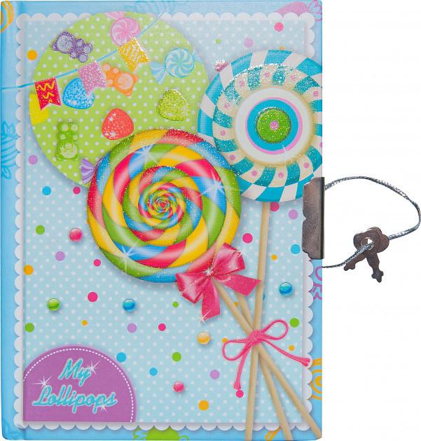 """Блокнот в подарочной упаковке с ручкой """"Леденцы"""" 56 листов, Malevaro"""