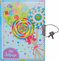 """Блокнот в подарочной упаковке с ручкой """"Леденцы"""" 56 листов, Malevaro, фото 1"""