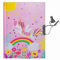 """Блокнот в подарочной упаковке с ручкой """"Единорог розовый"""" 56 листов, Malevaro, фото 1"""