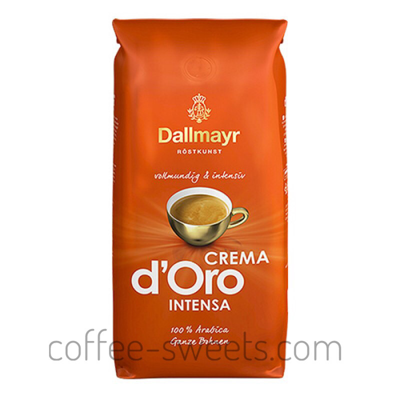 Кофе зерновой Dallmayr Crema d'Oro Intensa 1kg