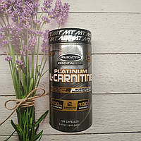 MuscleTech Platinum L - Carnitine 500mg 180 caps, фото 1