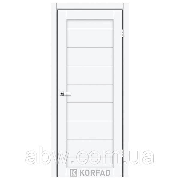 Міжкімнатні двері Korfad PR-05 білий перламутр