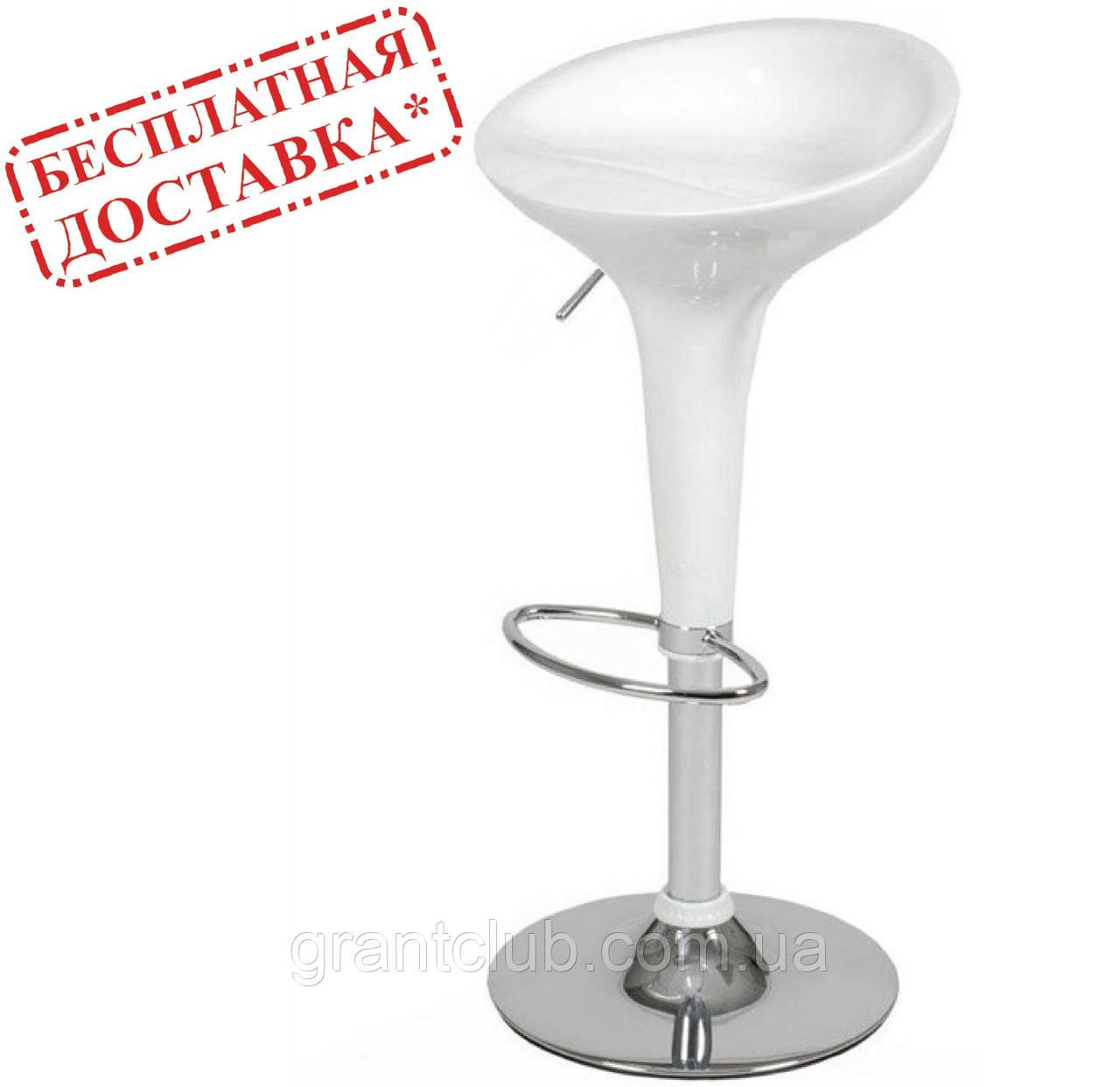 Стул барный Эпл белый пластик СДМ группа (бесплатная доставка)