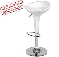 Стул барный Эпл белый пластик СДМ группа (бесплатная доставка), фото 1