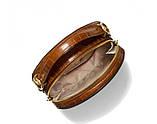 Женская брендовая сумка Michael Kors Delaney beige Lux, фото 6