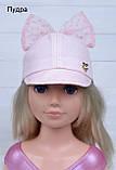 Детская кепка летняя с бантом, фото 3