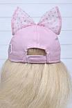 Детская кепка летняя с бантом, фото 4