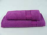Махровое полотенце 70х140, плотность 400гр/м2, фото 3