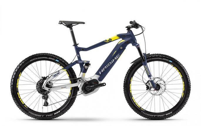 """Электровелосипед Haibike SDURO FullSeven 7.0 500Wh 27,5"""", рама L, сине-бело-желтый, 2018, фото 2"""