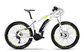 "Электровелосипед Haibike SDURO HardNine 6.5 500Wh 29"",  рама M, черно-серо-желтый, 2018"