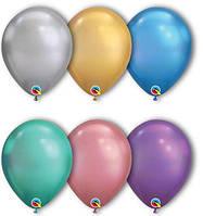 """Латексные шары Qualatex Хром 7"""""""