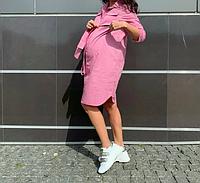 Платье рубашка для беременных и кормящих мам..