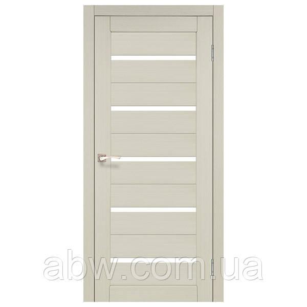 Межкомнатная дверь Korfad PR-02 беленый дуб