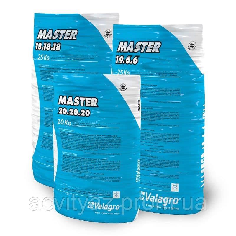 Комплексное минеральное удобрение МАСТЕР NPK 18.18.18+3, 25 кг