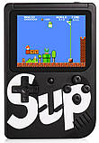 Ретро игровая приставка (Игровая консоль) Game Box sup 400 игр в 1 + джойстик Black, фото 3