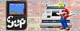 Ретро игровая приставка (Игровая консоль) Game Box sup 400 игр в 1 + джойстик Black, фото 6