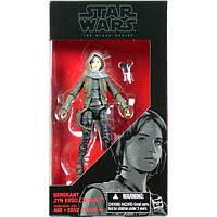"Фигурка Hasbro Star Wars The Black Series JYN ERSO ""Jedha"" Чорна серія - Сержант Джин Ерсо (Джидха)"