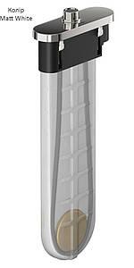 Шланг для лійки Hansgrohe SBox Square Matt White 1,45 м врізний, 28010700