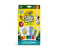 Crayola Набір ароматизованих змиваючих фламастерів - маркерів 16шт. Silly Scents Marker Activity