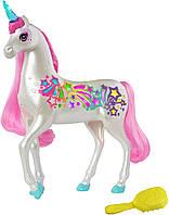 Barbie Dreamtopia Brush 'n Sparkle Unicorn Дрімтопія Мерехтливий Єдиноріг (GFH60) (B07FDFBZVR)