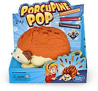 Настільна сімейна гра Hasbro Gaming Porcupine Pop Game Хто перехитрить дикобраза? (E5702CU0) (B07MCW3B3D)