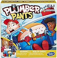 """Настільна гра Hasbro Gaming Plumber Pants Game """"Розіграй водопровідника"""" (E6553) (B07MQXVH1L)"""