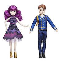 Ігровий набір Hasbro Disney Descendants Royal Cotillion Couple Ляльки Мел і Бен Спадкоємці 2 (B07CPFZ7QC)
