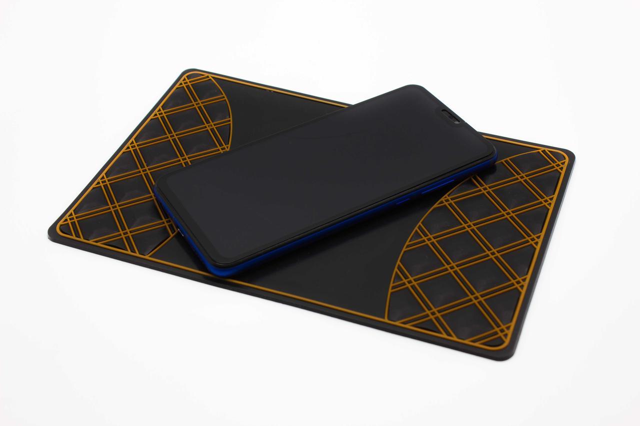 Антискользящий коврик для телефона на торпеду MATE авто держатель