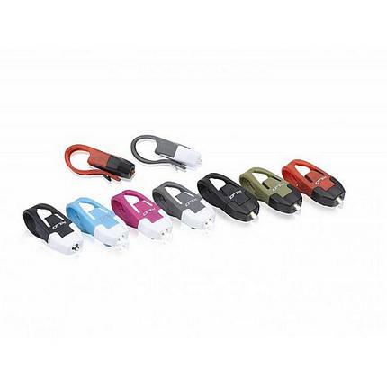 Комплект мини мигалок XLC CL-S10 'Colours' красные, фото 2