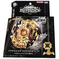 Takara Tomy Beyblade Burs B-00 WBBA Limited Edition Spriggan Requiem .0.Zt Golden Axe Ver.  Оригінал