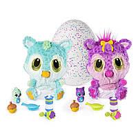 Інтерактивна іграшка Hatchimals HatchiBabies Cheetree Egg with Interactive Pet Baby малюк Чубастік  6044071