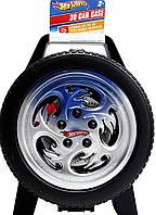 Кейс Hot Wheels  30-Car Storage Case With Easy Grip чемодан для зберігання машинок 30 шт. (B0011BNAZ4) (20385)