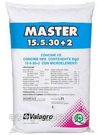Комплексное минеральное удобрение МАСТЕР NPK 15+5+30, 25 кг