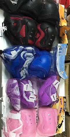 Комплект захисту (налокітники,наколінники,рукавички), фото 2