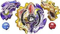 Takara Tomy Beyblade Burst Duo Eclipse 7Star Unite (Sun Moon God)Сонячне затемнення +  Бог місяця. Оригінал
