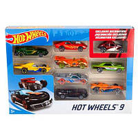 Подарунковий набір машинок Hot Wheels 9-Car Gift Pack (Styles May Vary) (X6999) (B006EFMSSM)