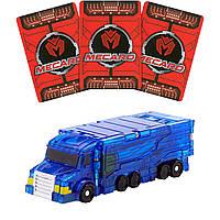 Машинка трансформер грузовик Mecard Neo Jumbo Мекард Нео Джамбо Мекардімал (B078SBZ89L) (FXP35)
