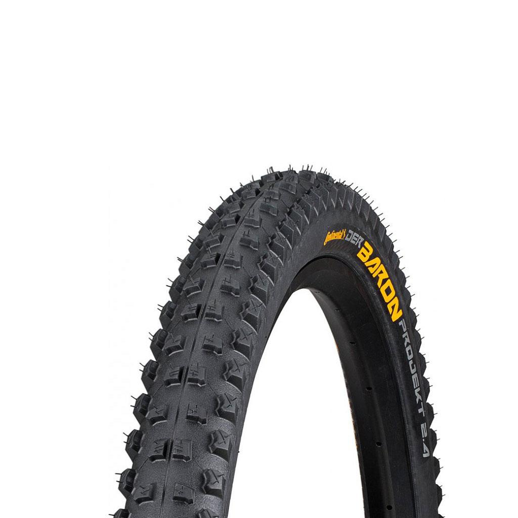 "Покрышка Continental Der Baron Projekt 29""x2.4, Фолдинг, Tubeless, ProTection Apex, Skin"