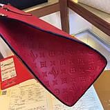 Сумка Луї Вітон Onthego канва Monogram, шкіряна репліка, фото 4